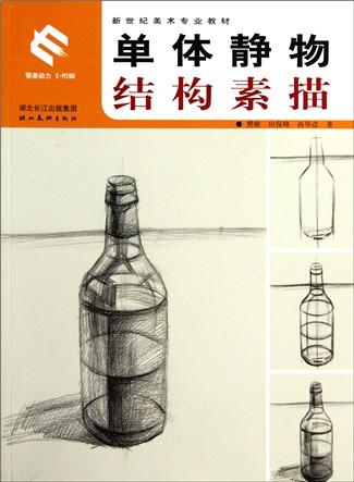 单体静物结构素描(新世纪美术专业教材)