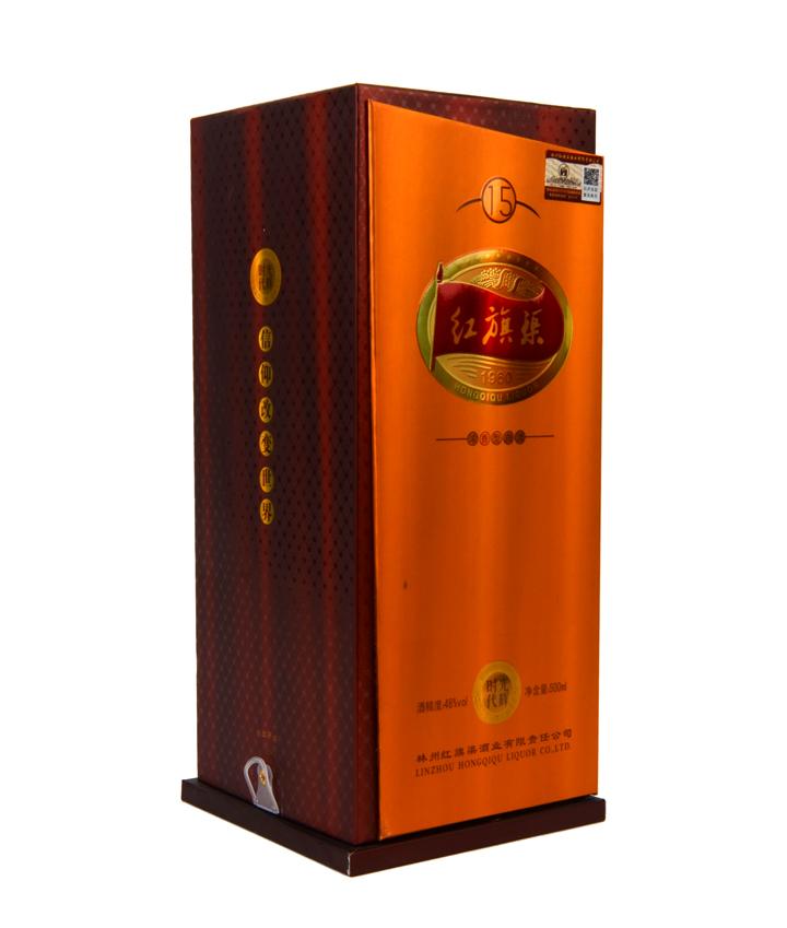 河南安阳林州 特产 红旗渠 红旗渠光辉时代15年 46%vol浓香型白酒 500