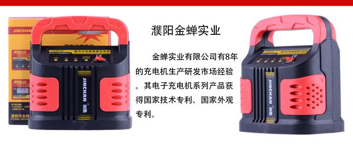 金蝉 脉冲式电瓶修复充电机 jcdq-a2 盒装