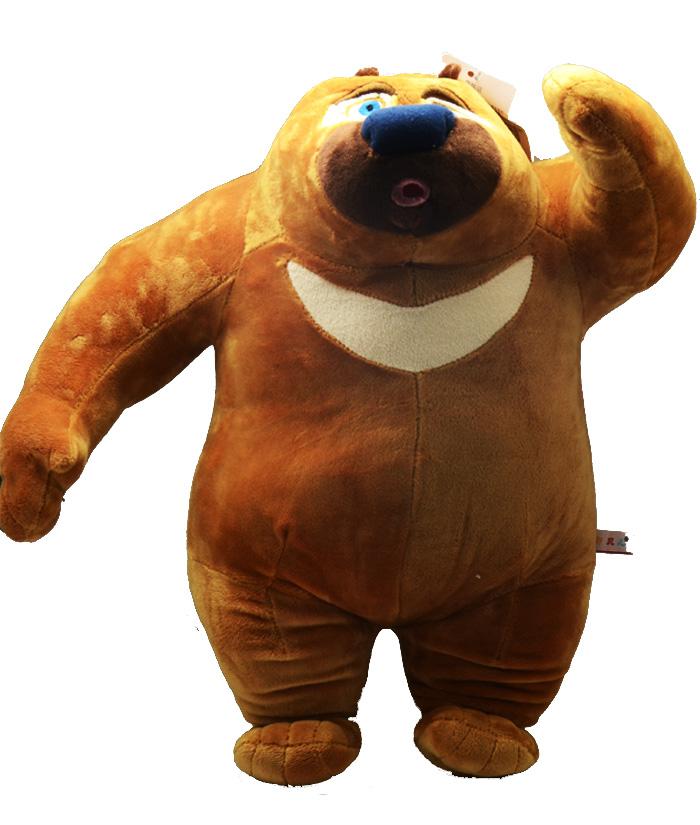 橡皮泥手工制作熊二