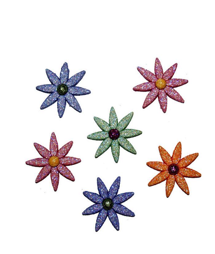 雏菊花瓣/美国造型扣/手工拼布diy必备服装装饰扣子/bt4998/雅趣